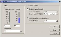 LC-R720 Spatial Light Modulator Callibration Software