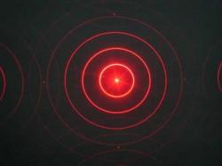 Spatial Light Modulator: Circle Diffraction Pattern