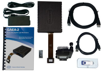 GAEA 4K phase only Spatial Light Modulator deliverables