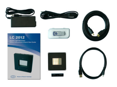 LC2012 Spatial Light Modulator deliverables