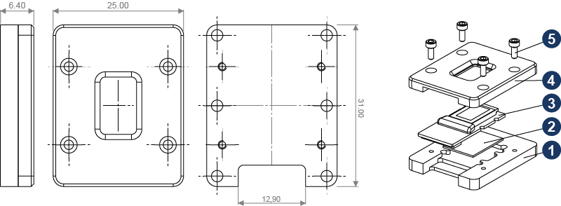 LUNA LCOS Spatial Light Modulator Display Adaptor