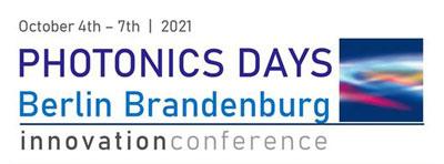 Photonics Days Berlin Brandenburg 2021